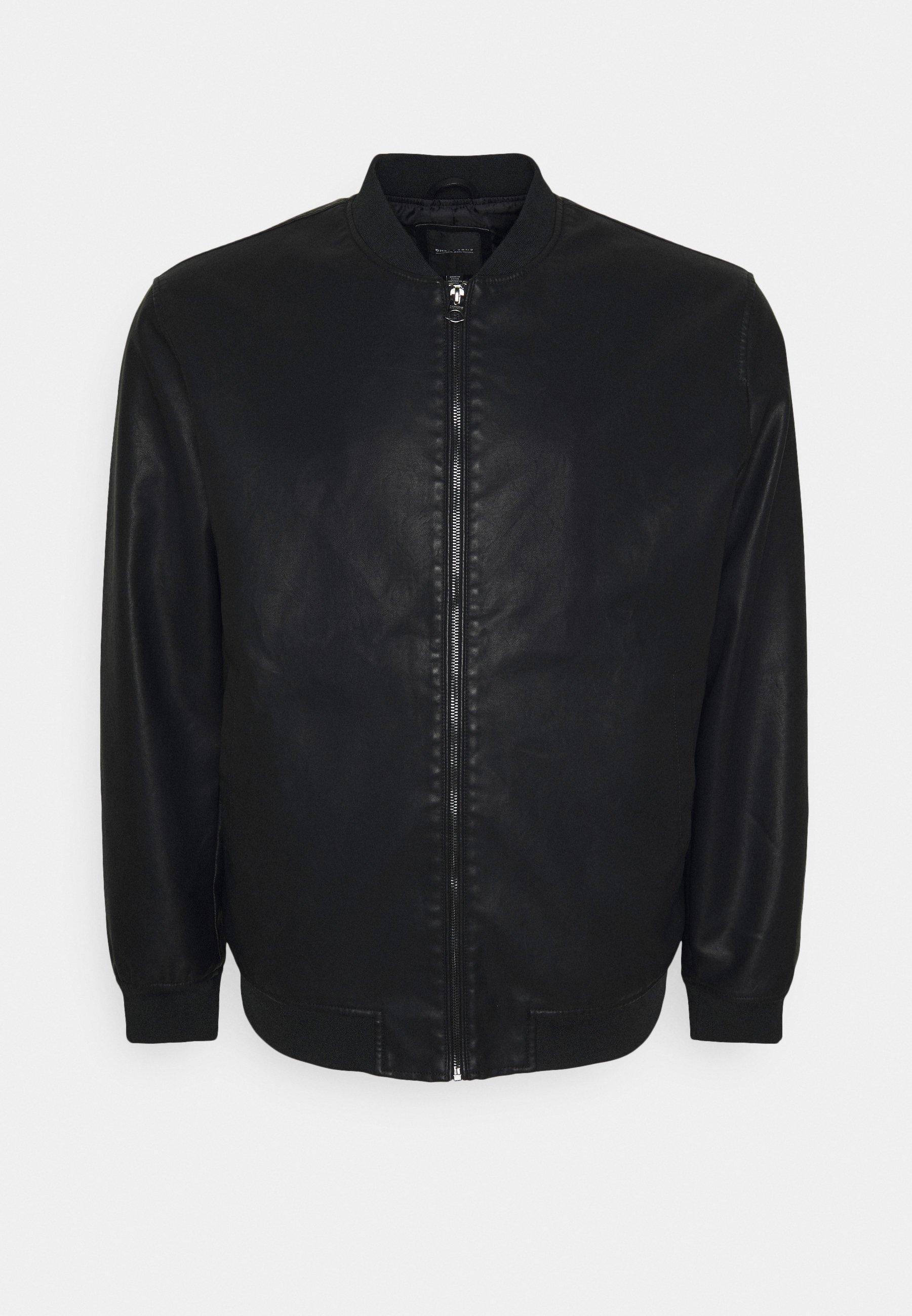 Men ONSAKSEL JACKET - Faux leather jacket