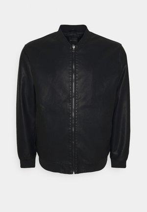 ONSAKSEL JACKET - Faux leather jacket - black