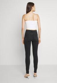 Lee - SCARLETT HIGH - Jeans Skinny - black ellis - 2