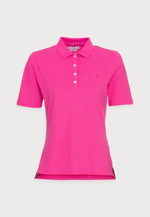 REGULAR POLO - T-shirt con stampa - pink