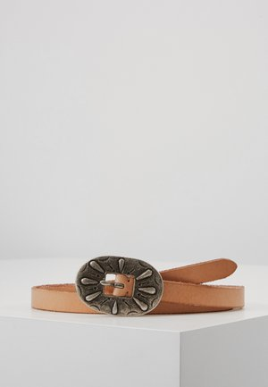 TEXTURED ARIZONA BELT - Cinturón - natural