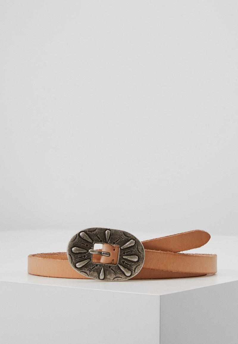 Polo Ralph Lauren - TEXTURED ARIZONA BELT - Pásek - natural