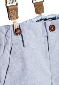Next - BLUE FORMAL TROUSERS WITH BRACES (3MTHS-7YRS) - Pantaloni - blue - 2
