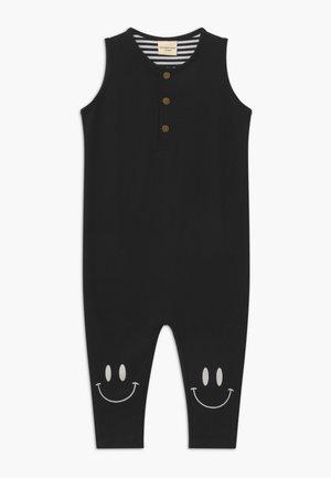 TANK DUNGAREE - Jumpsuit - black
