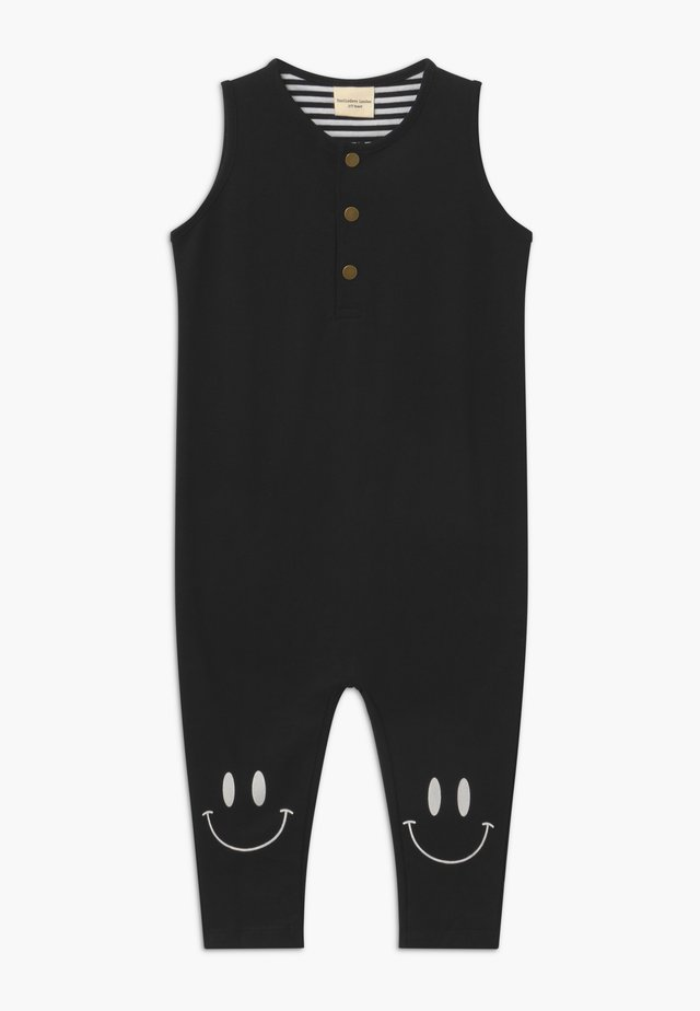 TANK DUNGAREE - Jumpsuit - black