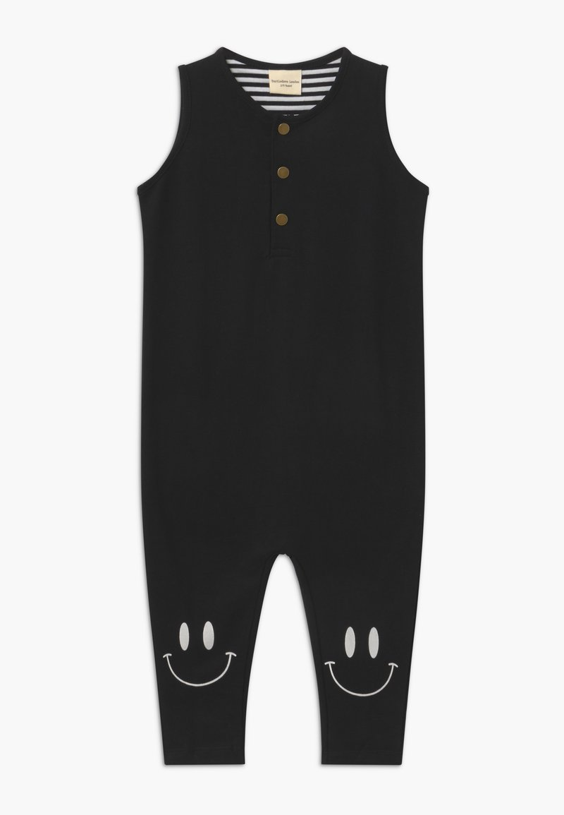 Turtledove - TANK DUNGAREE - Jumpsuit - black