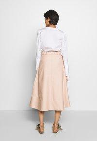 Mykke Hofmann - RONA - A-line skirt - nude denim - 2