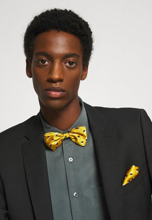 GEO BOW TIE SET - Mucha - yellow