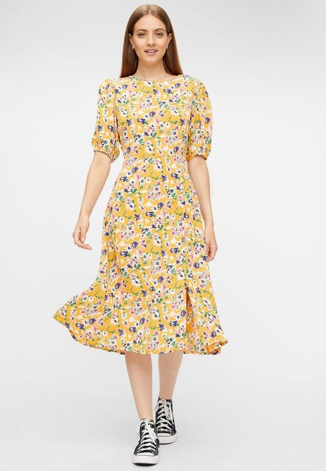 FLORALES RÜCKENFREIES - Sukienka letnia - apricot