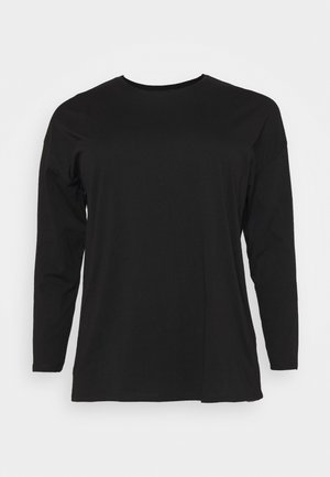CURVE KYLE OVERSIZED LONG SLEEVE  - Topper langermet - black