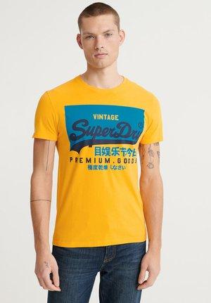 TEE - Print T-shirt - utah gold