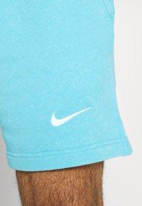 Nike Performance - FC BARCELONA SHORT - Club wear - lagoon pulse/white - 5