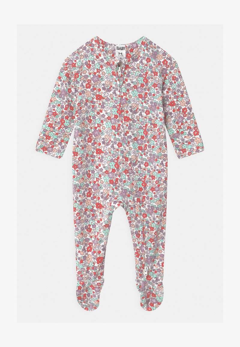 Cotton On - LONG SLEEVE ZIP - Sleep suit - vanilla