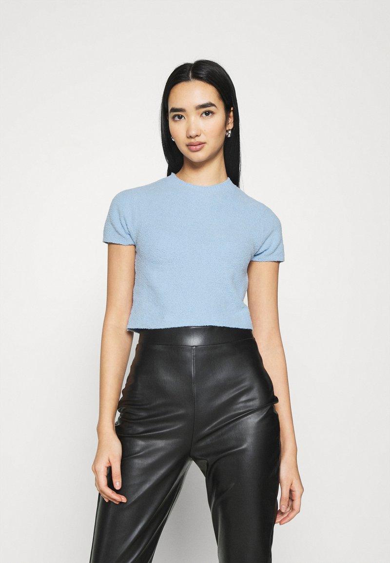 Monki - CIMA  - Basic T-shirt - blue light