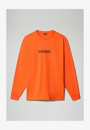 S-BOX - Camiseta de manga larga - orangeade
