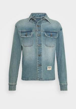 AIVEN - Veste en jean - light blue