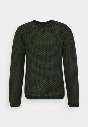 ONSDOCK - Stickad tröja - dark green