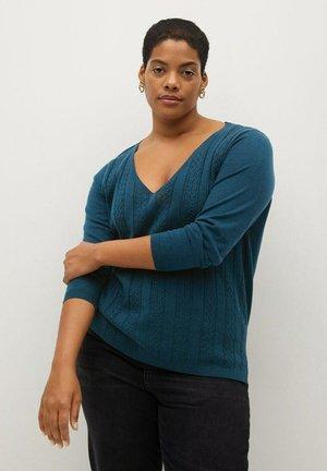 CABLE - Pullover - preußisch blau