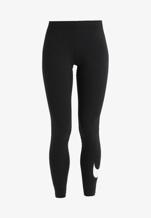 CLUB LOGO - Leggings - Trousers - black
