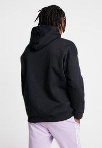 adidas Originals - ADICOLOR TECH HOODIE - Huppari - black - 2