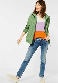 Street One - Summer jacket - green - 1