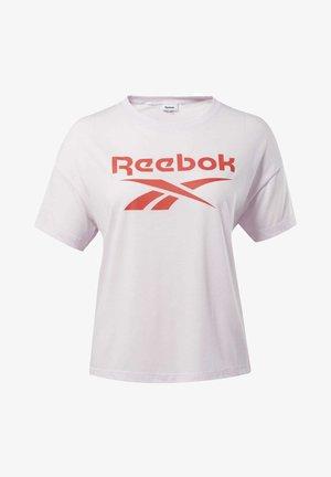 WORKOUT READY SUPREMIUM LOGO TEE - T-shirt med print - pink