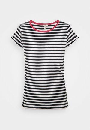 CAP SLEEVE - Print T-shirt - navy