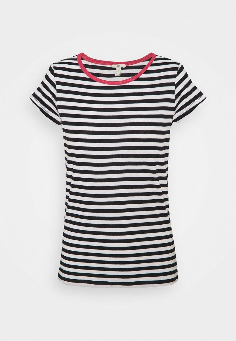 edc by Esprit - CAP SLEEVE - Print T-shirt - navy