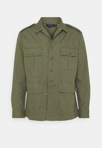 Polo Ralph Lauren - CLASSIC FIT DOBBY UTILITY SHIRT - Shirt - soldier olive - 4