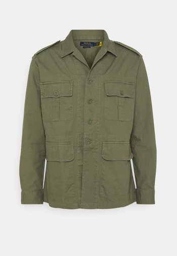 CLASSIC FIT DOBBY UTILITY SHIRT - Shirt - soldier olive