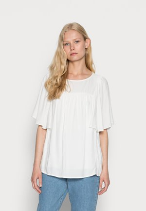 BLOUSE - Basic T-shirt - off white
