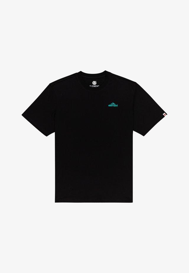 T-shirt imprimé - flint black