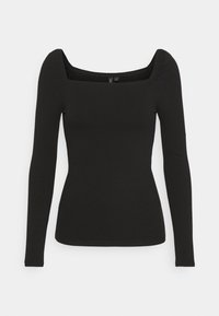 Forever New - SALLY SQUARE NECK - Long sleeved top - black - 4