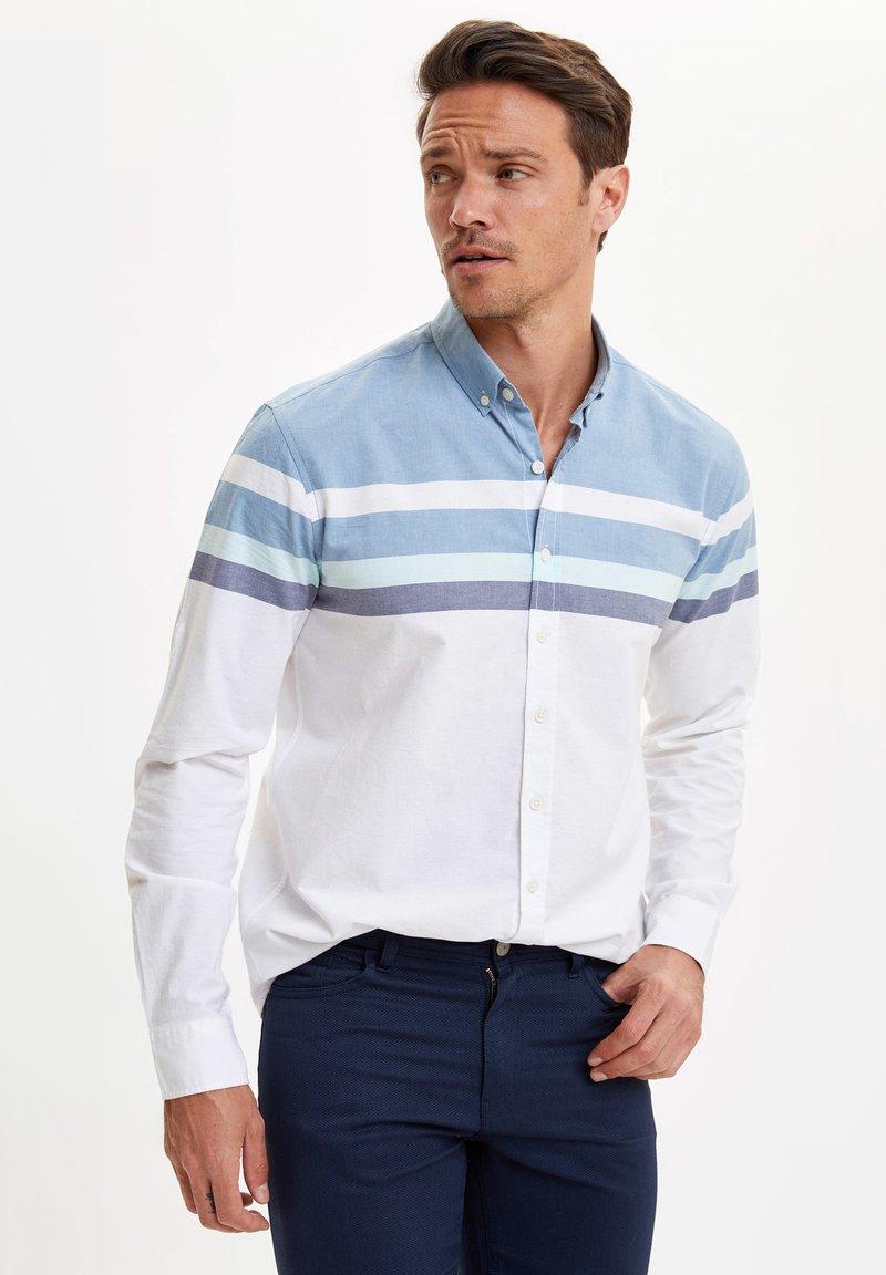 DeFacto - Shirt - blue