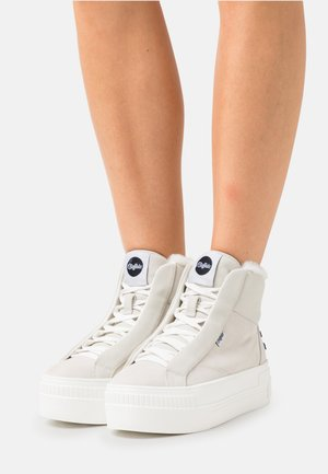 PAIRED - High-top trainers - offwhite