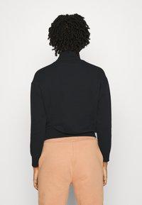 Even&Odd - High Neck Sweatshirt - Sweatshirt - black - 2