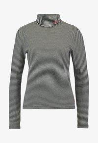 Levi's® - TURTLENECK - Long sleeved top - black/white - 3
