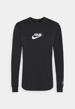 TEE FREAK LONG SLEEVE - Longsleeve - black