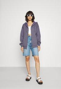 BDG Urban Outfitters - ZIP THROUGH HOODIE - Sweatjacke - lilac - 1
