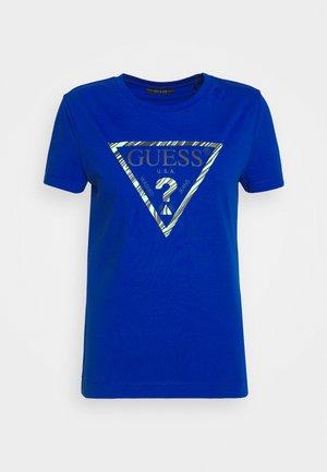 T-shirts med print - blue romance