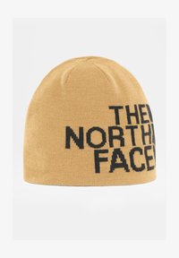 The North Face - REVERSIBLE TNF BANNER BEANIE - Huer - utilitybrn/hawthornekhaki - 0