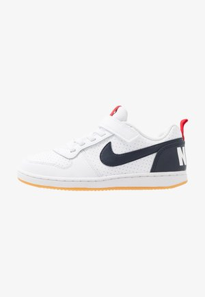 COURT BOROUGH - Sneakers laag - white/obsidian/university red/light brown