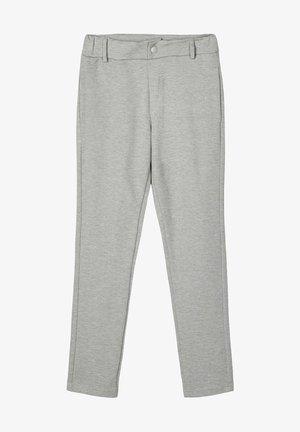 Chino kalhoty - grey melange