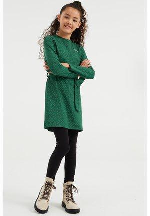 MET STIPPENDESSIN - Vestito di maglina - green