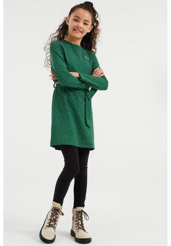 MET STIPPENDESSIN - Jersey dress - green