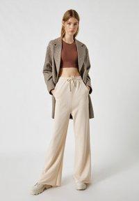 PULL&BEAR - Short coat - dark grey - 1