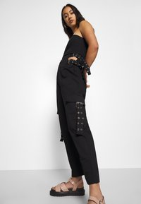 The Ragged Priest - TIME TROUSER - Kalhoty - black - 4