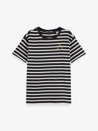 Scotch & Soda - STRIPED TEE - Print T-shirt - combo - 3