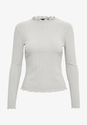 Long sleeved top - opal gray melange