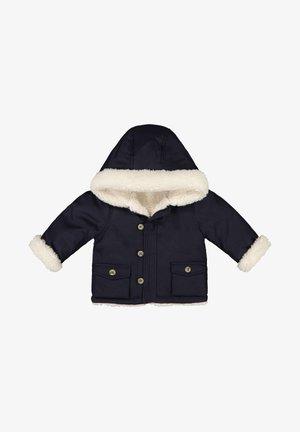 Winter jacket - dark blue/white